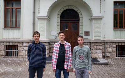 Simon, Martin in Aleksander srebrni na državnem tekmovanju iz znanja nemščine