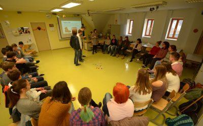Projektni dan na Gimnaziji Jesenice